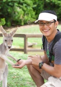 study abroad student in australia