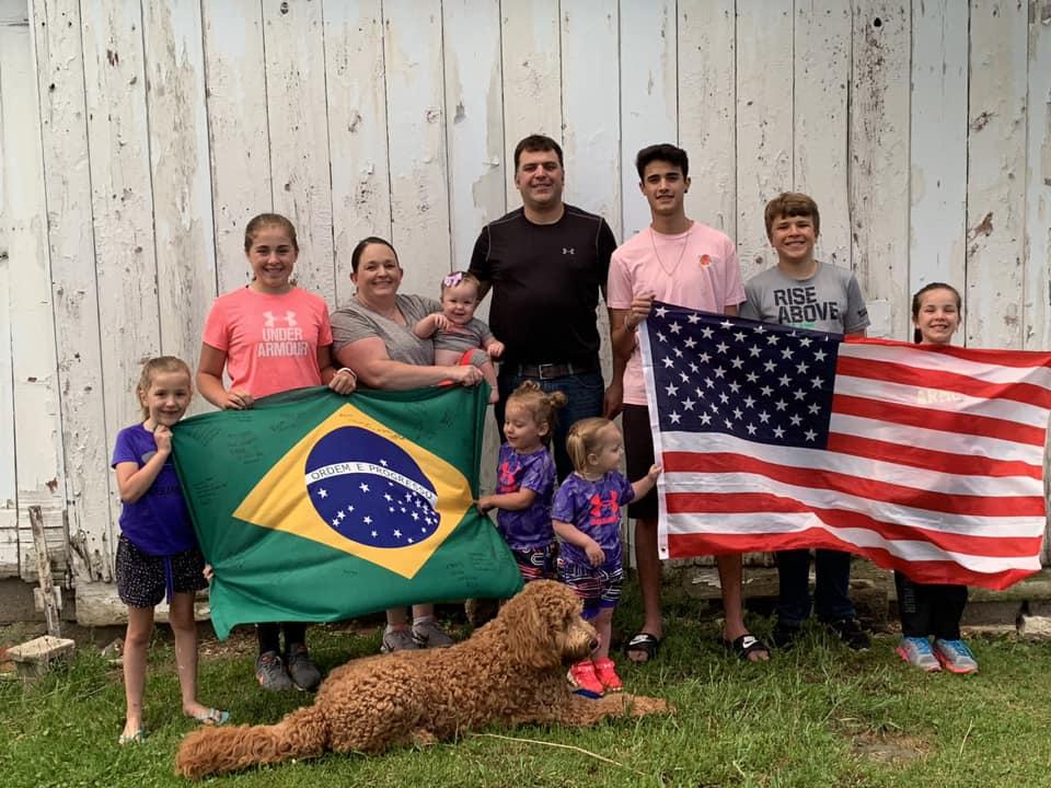 high school exchange program families Brazil